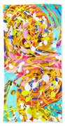 Sea Of Colors  Beach Sheet