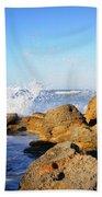 Sea Splash Beach Towel