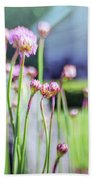 Sea Thrift Beach Towel