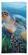 Sea Turtle Cove Beach Towel