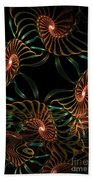 Sea Urchins Beach Towel