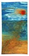 Sea Was Beach Towel