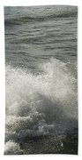 Sea Waves Beach Towel