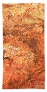 Sea Weathered- Abstract Art Beach Towel