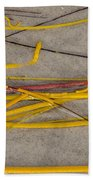 Sea Whip Coral Beach Towel
