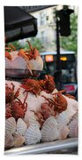 Seafood Restaurant 2 Beach Towel