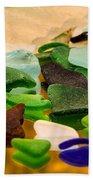 Seaglass Reflections Beach Towel