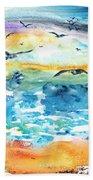 Seagull Seas Beach Towel