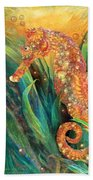 Seahorse - Spirit Of Contentment Beach Towel