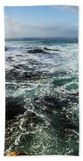 Seas Of The Wild West Coast Of Tasmania Beach Towel