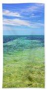 Seascape - The Colors Of Key West Beach Towel