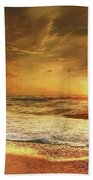 Seashore Sunset Beach Towel
