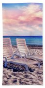 Seaside Chairs Beach Towel