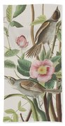 Seaside Finch Beach Towel