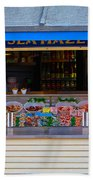 Seaside Shellfish Snack Shack Beach Towel