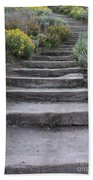 Seaside Steps Beach Towel