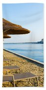 Seaside Time Beach Towel
