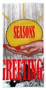 Seasons Greetings 31 Beach Towel