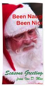 Seasons Greetings Beach Towel