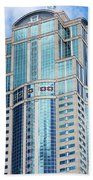 Seattle High Rise Beach Towel
