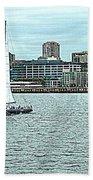Seattle Sail Beach Towel