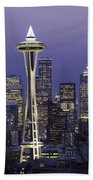 Seattle Space Needle 0200 Beach Towel