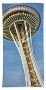 Seattle Space Needle Beach Towel