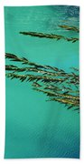Seaweed Patterns Beach Towel