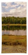 Secluded Lake Beach Towel