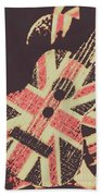 Second British Invasion Beach Towel