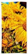 Flowers - Second Life Beach Towel