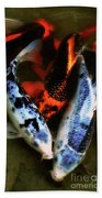 Secrets Of The Wild Koi 10 Beach Towel