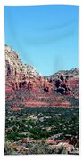 Sedona Arizona City Scape Beach Towel
