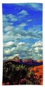 Sedona Capitol Butte Beach Towel