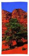 Sedona Red Rock Beach Towel