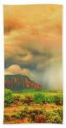 Sedona Storm, Sedona, Arizona Beach Towel