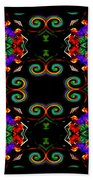 Seeing In Abstraction Beach Towel