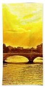 Seine View Beach Towel
