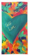 Self Love Beach Towel