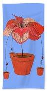 Self-seeding Pot Plants Beach Towel