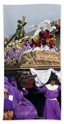 Semana Santa Procession V Beach Towel