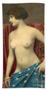 Semin Nude Girl Beach Towel