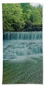 Seneca Mills Waterfall Beach Towel