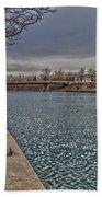 Seneca Falls Waterfront Beach Towel