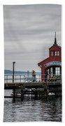 Seneca Lake Pier Beach Towel
