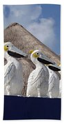 Sentry Pelicans Beach Towel
