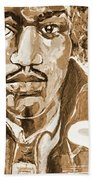 Sepia Jimi Beach Towel