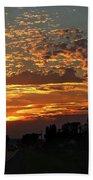 Sept Sunset Beach Towel