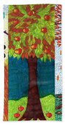 September October November Beach Towel