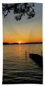 September Sunset Beach Towel